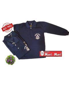 T-SHIRT KADET POLIS (LENGAN PANJANG)