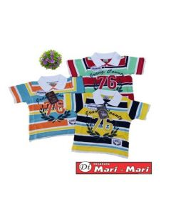 KIDS COLLAR TEE  SIZE 110 TO 150 (3 to 8 yrs old)
