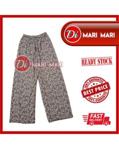 WOMEN PALAZO FLORAL LONG PANTS 00 FREE SIZE AND EXTRA SIZE